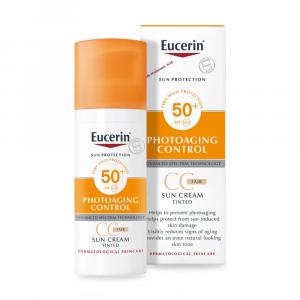 Eucerin tinted sun cream