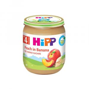 Hipp kašica breskva banana 125g