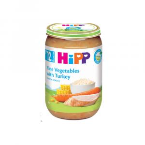 Hipp kašica za bebe ćuretina pirinač i povrće 220g