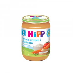 HIPP MASH CHICKEN, RICE AND VEGETABLE  190G