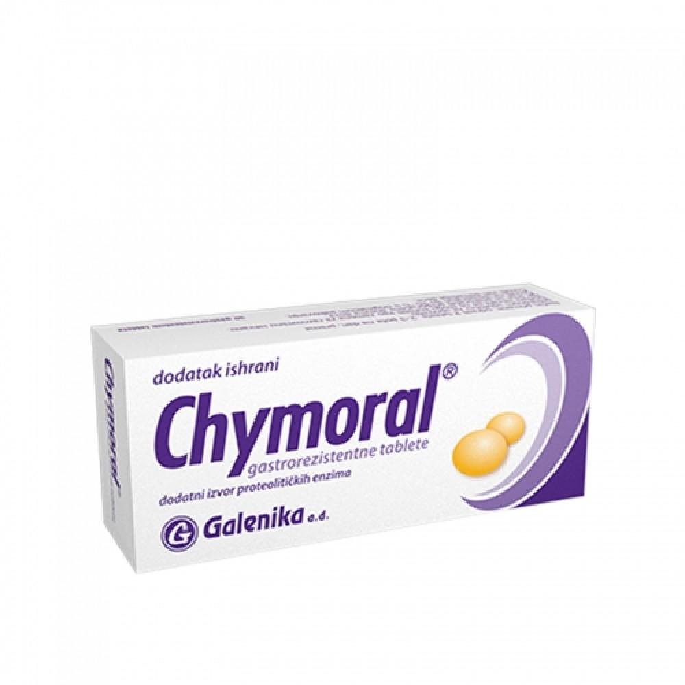 Chymoral tablete