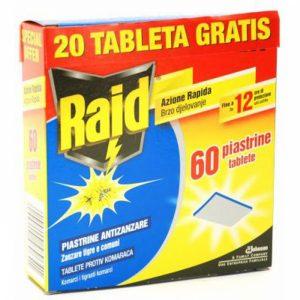 Raid tablete protiv komaraca